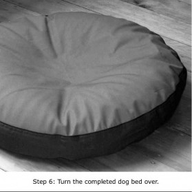 Dri-top Waterproof Protector for a Barka Parka dog bed